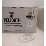 verre pelforth à pied 25 cl brassée dans le nord