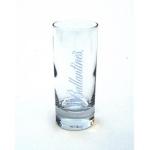verre ballantines tube plastique