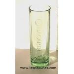 verre tube bacardi