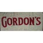 serviette de bar gordon's