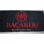 Serviette de bar bacardi