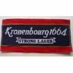 Serviette de bar Kronenbourg 1664