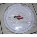 Plateau publicitaire martini blanc