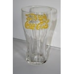 verre coca cola lettre jaune