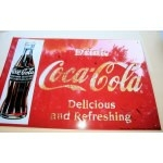 Tole publicitaire coca cola