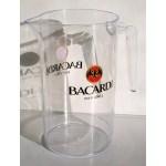 Pichet plastique Bacardi
