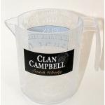 Pichet plastique clan campbell