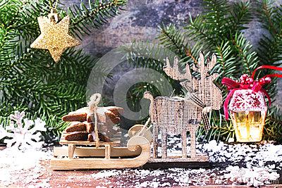 christmas-cookies-card-slade-tree-toys-snow-47432846 photo noel