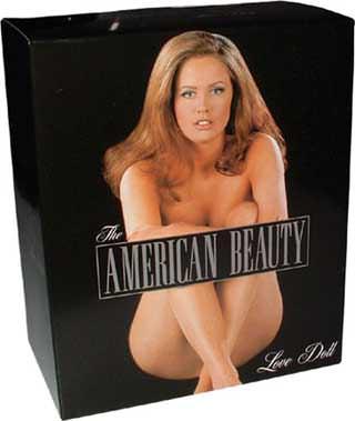 Poupée gonflable America Beauty