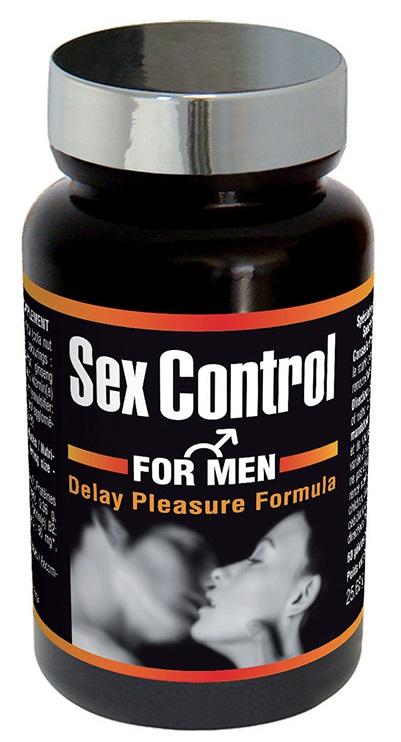Sex Control : prolonge l\'érection - 60 gélules