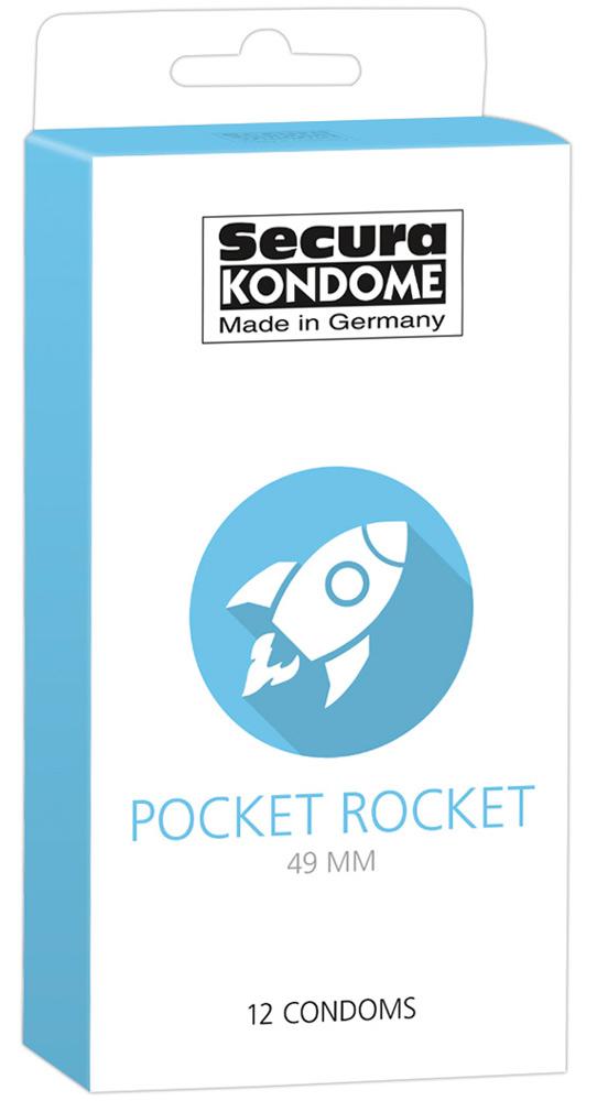 12 Préservatifs Etroit - Pocket Rocket