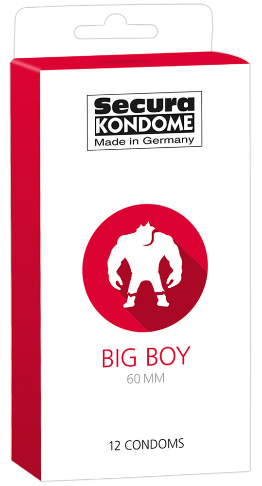 12 Préservatifs Grand Format - Big Boy