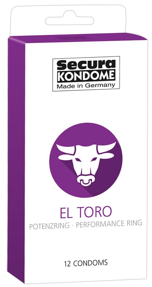 12 Préservatifs Retardant - El Toro