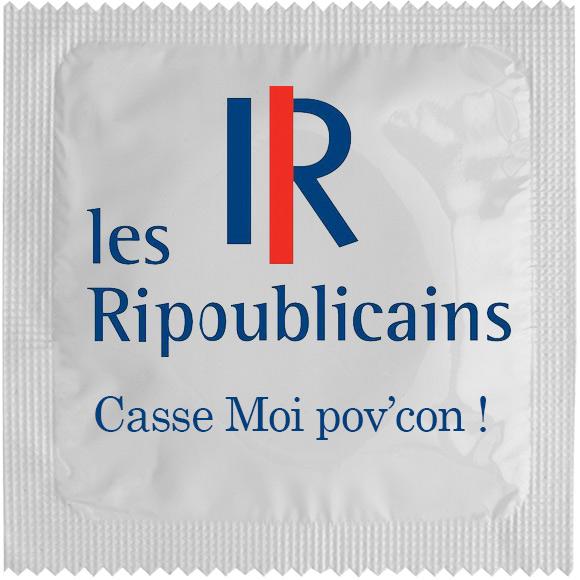 1 X préservatif Les Ripoublicains