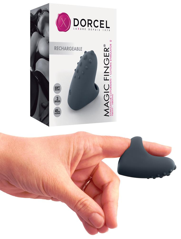 Doigt Vibrant Rechargeable Magic Finger