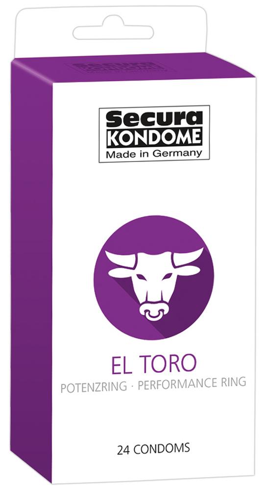 24 Préservatifs Retardant - El Toro