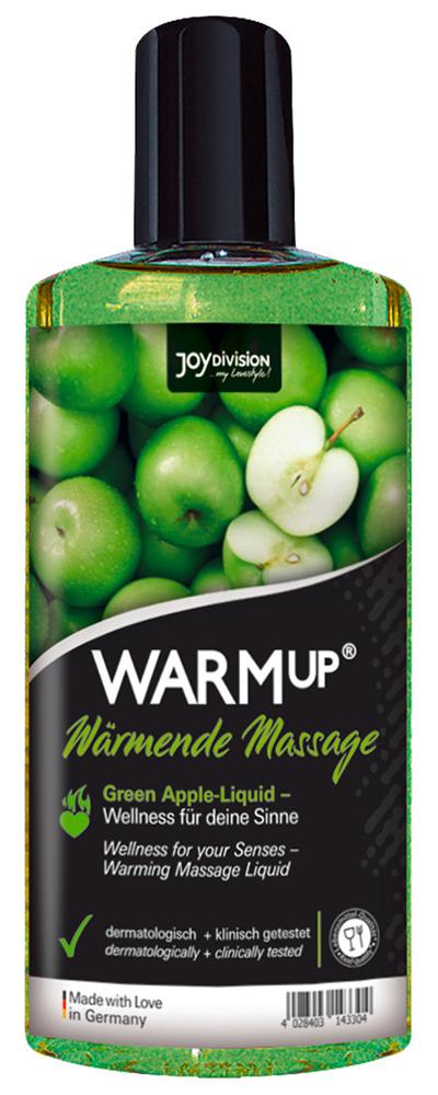 Huile chauffante comestible saveur Pomme Verte 150 ml