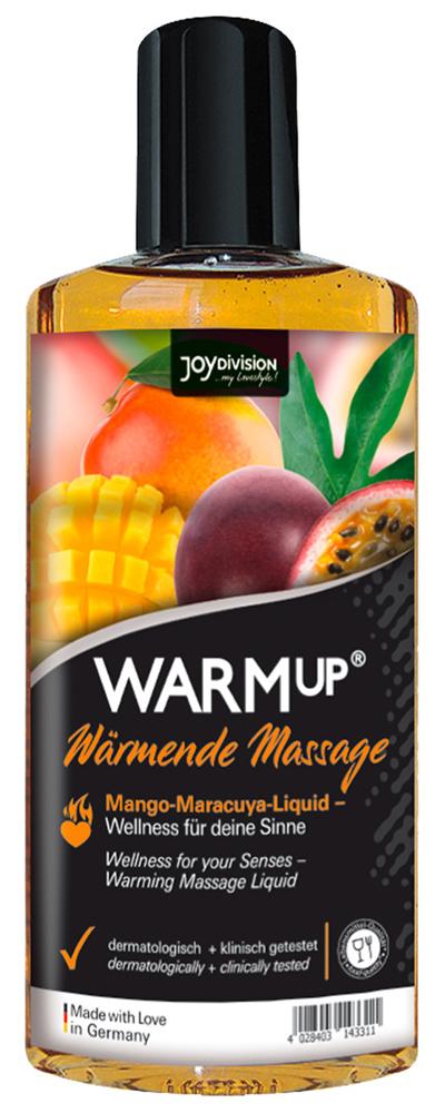 Huile chauffante comestible saveur Mangue Passion 150 ml