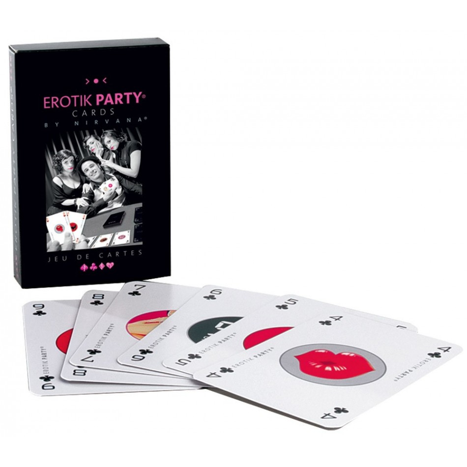 Jeu de Cartes Erotik Party