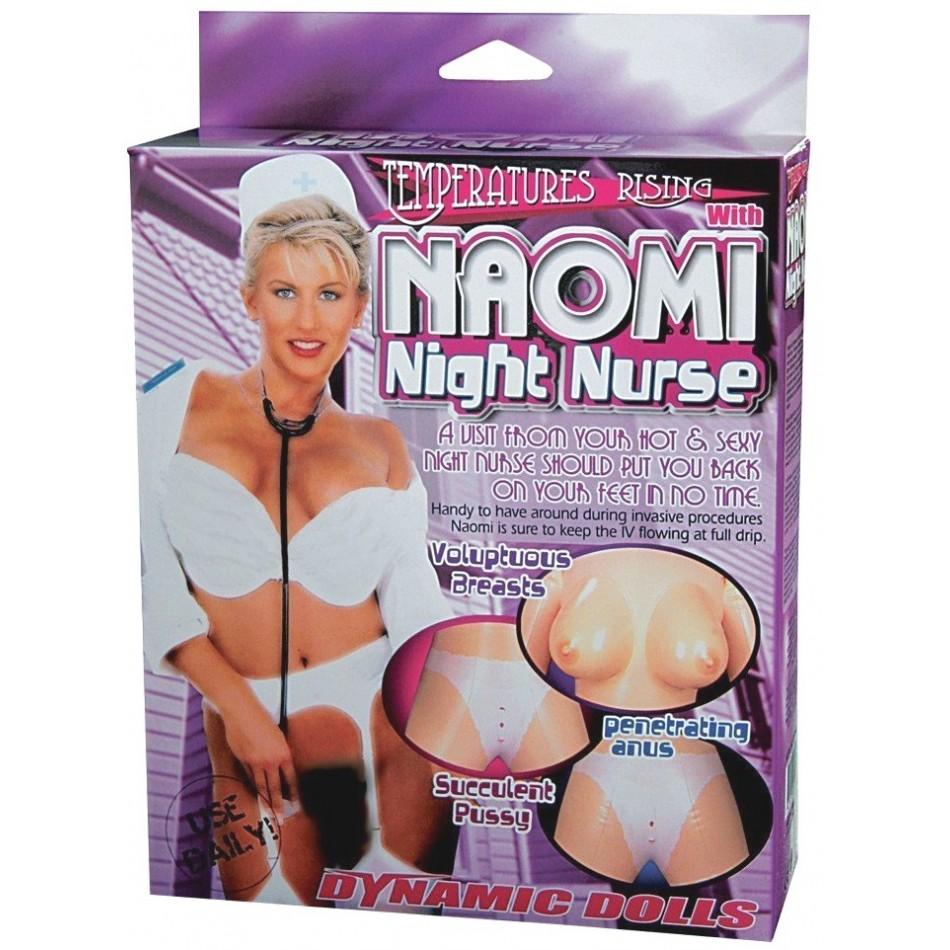 Poupée gonflable Naomi Infirmière