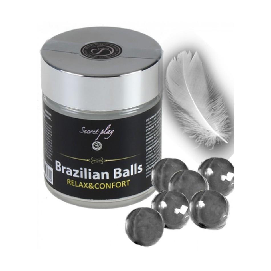 Boules Brésiliennes Anale Relaxantes par 6