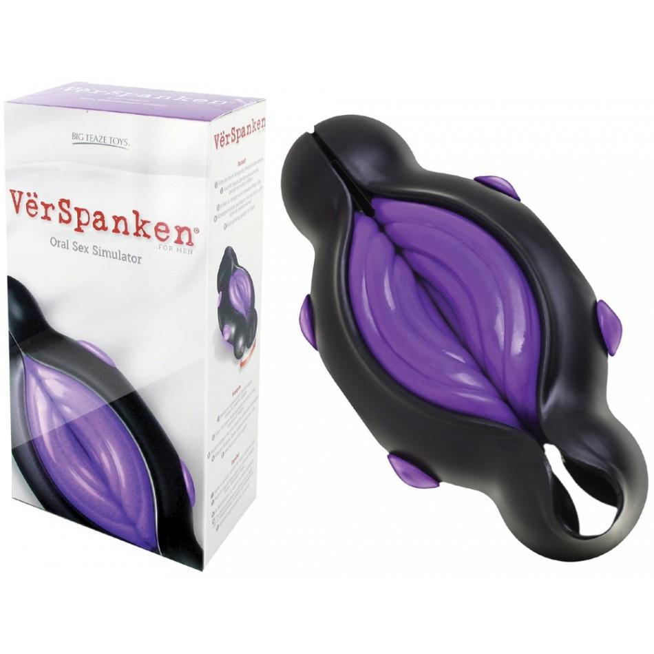 Masturbateur VerSpanken Wavy violet