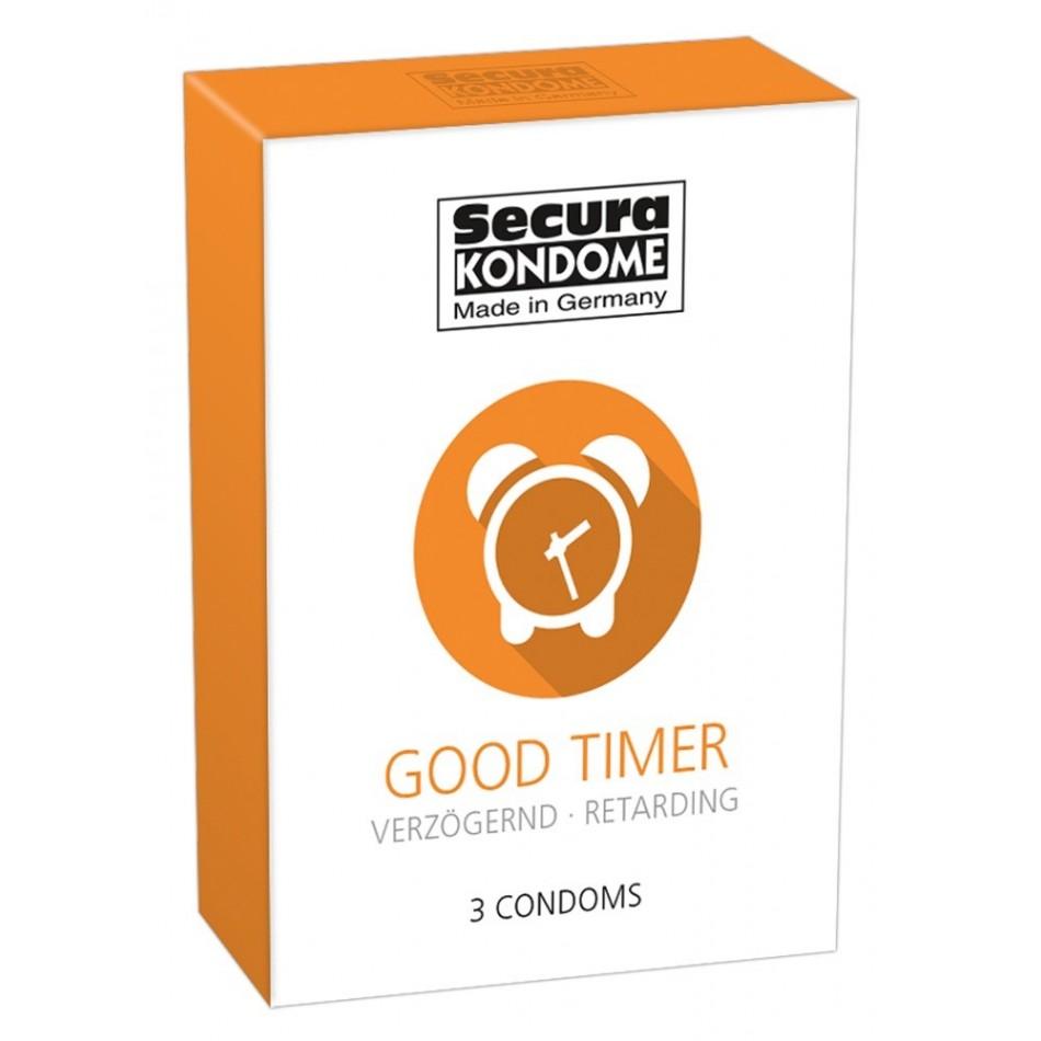 3 Préservatifs Retardants - Good Timer