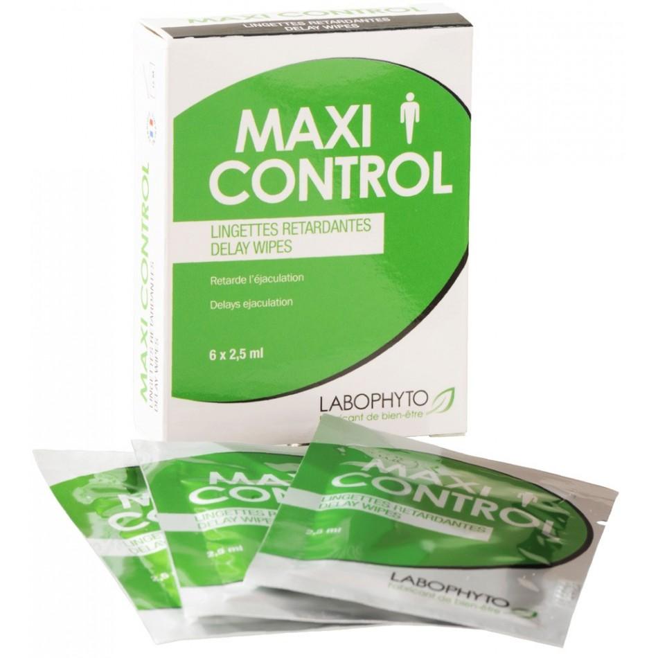 Maxi Control - 6 lingettes retardantes