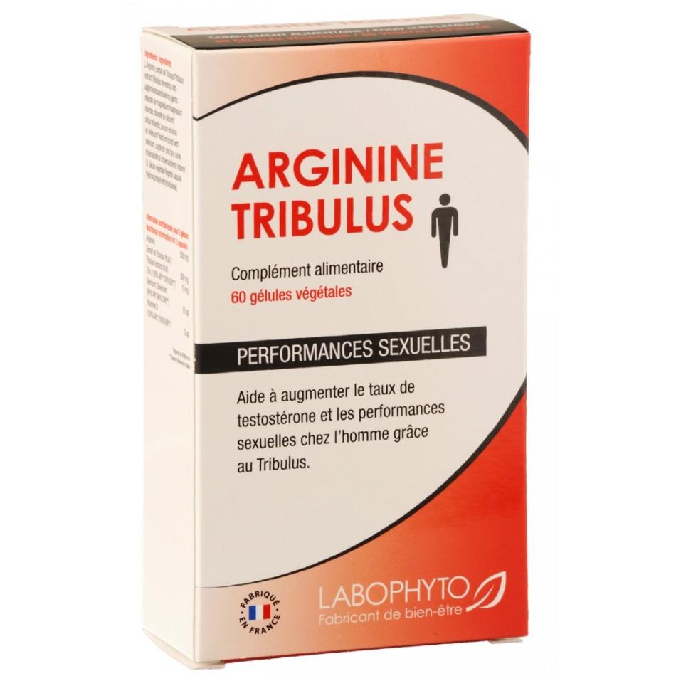 Arginine / Tribulus - 60 gélules