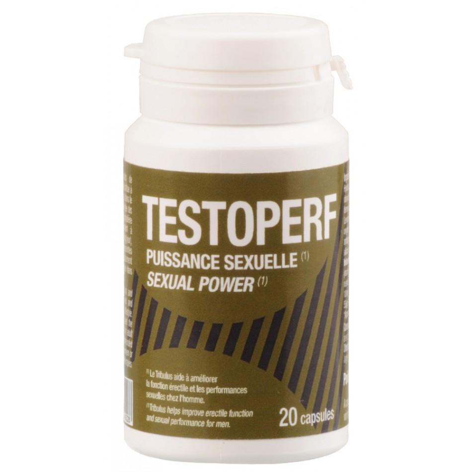 TestoPerf Puissance Sexuelle - 20 capsules