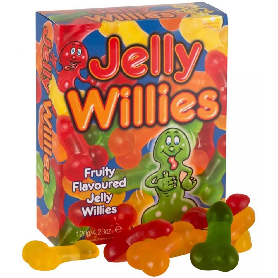 Bonbons Forme Pénis Saveurs Fruits - 120 g