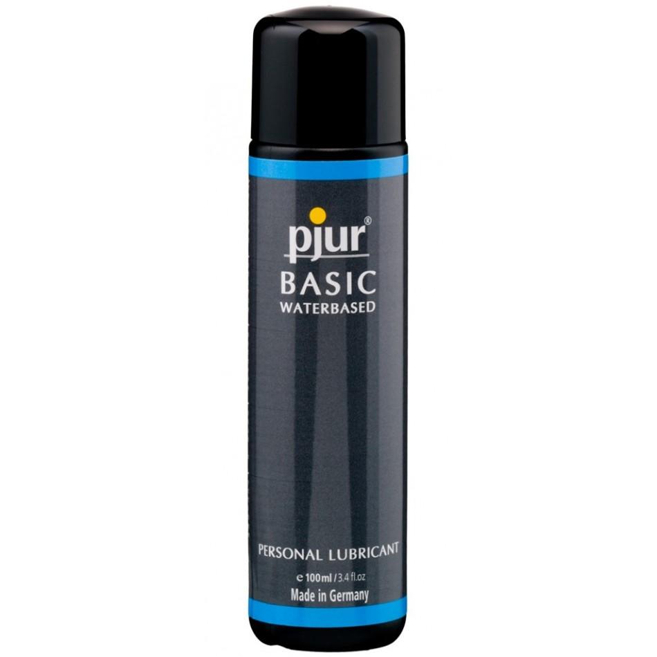 Lubrifiant Pjur Basic à Base d\'Eau 100 ml