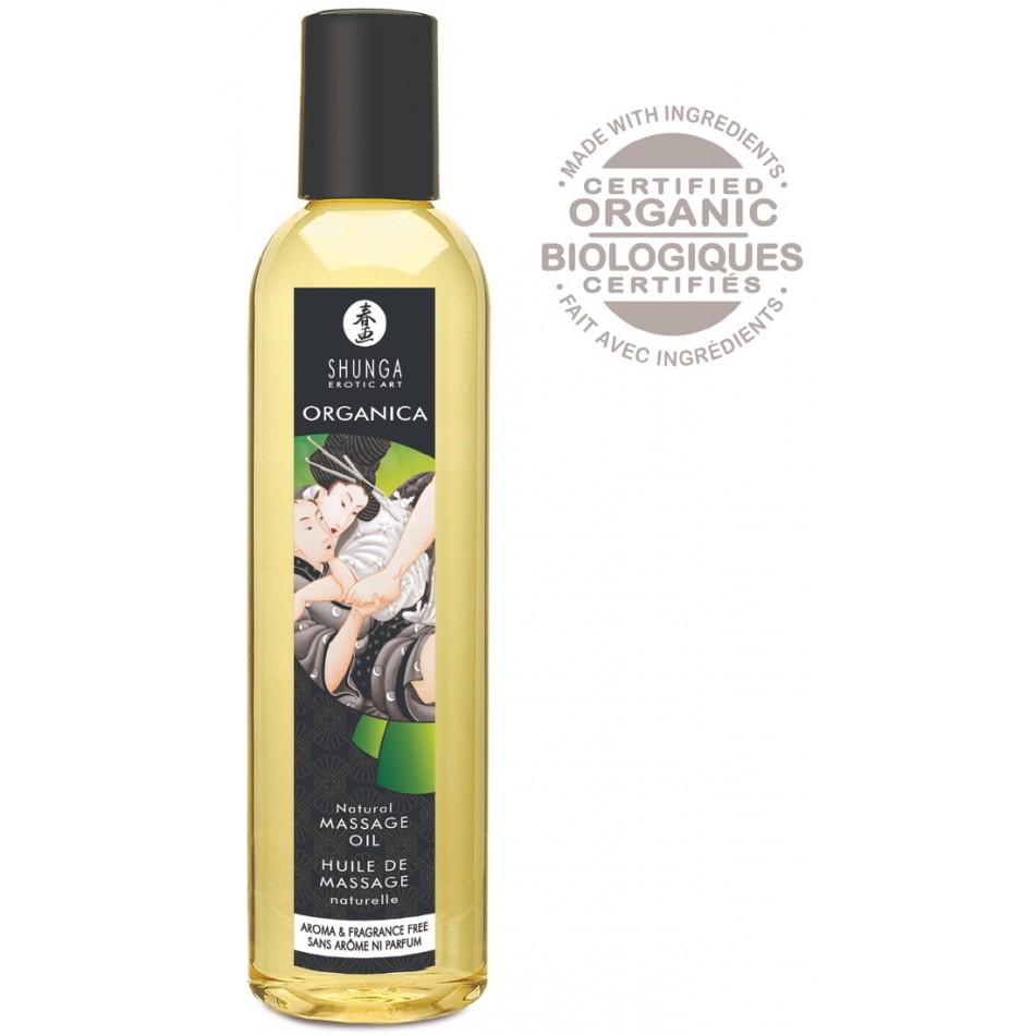 Huile de Massage Biologique Nature - 250 ml