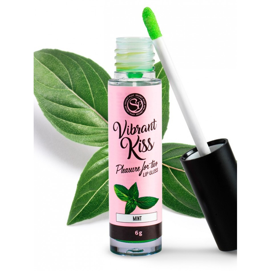 Gloss vibrant Kiss Saveur Menthe - 6 gr