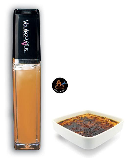 Gloss lumineux à effet chaud froid Crème brulée - 10 ml