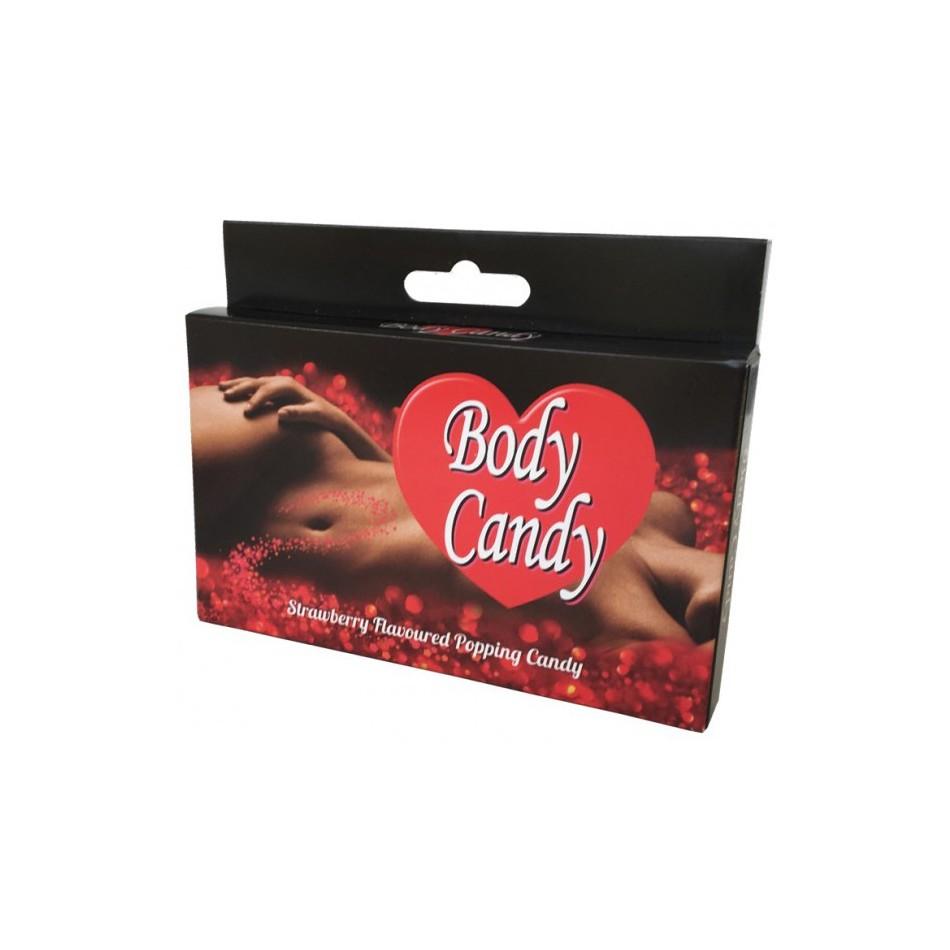 Sucre Pétillant Body Candy Saveur Fraise