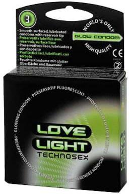 Préservatifs phosphorescents par 3