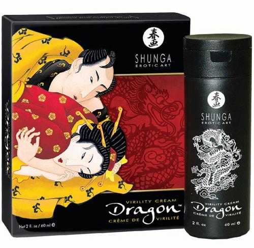 Crème de virilité Dragon par Shunga - 60 ml