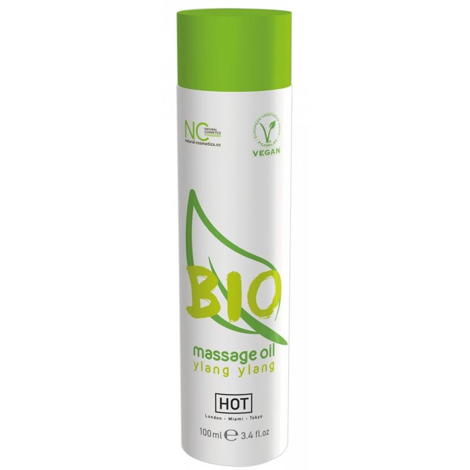 Huile de Massage Bio Vegan Ylang Ylang - 100 ml