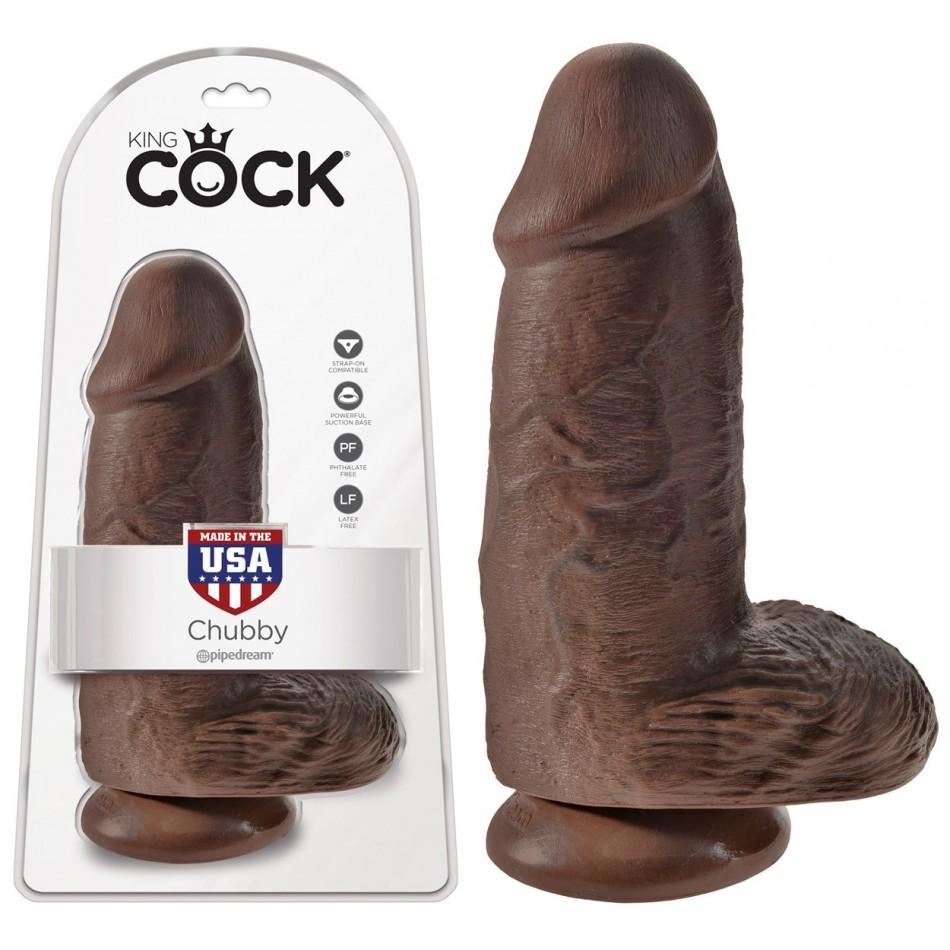 Gode Extra Large Chubby Chocolat King Cock