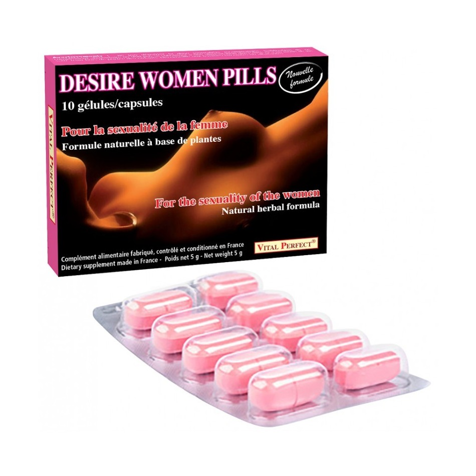 Desire women pills - 10 gélules