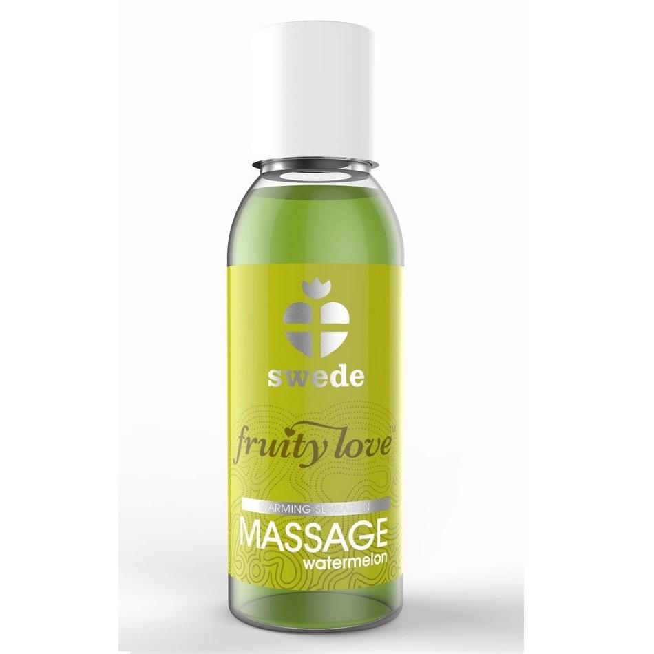 Huile de massage Fruity Love Swede Pastèque 50 ml