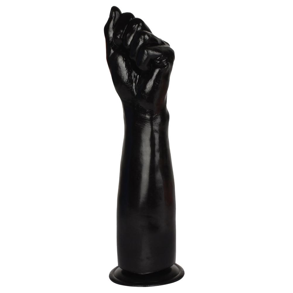 Bras avec poing pour fist-fucking