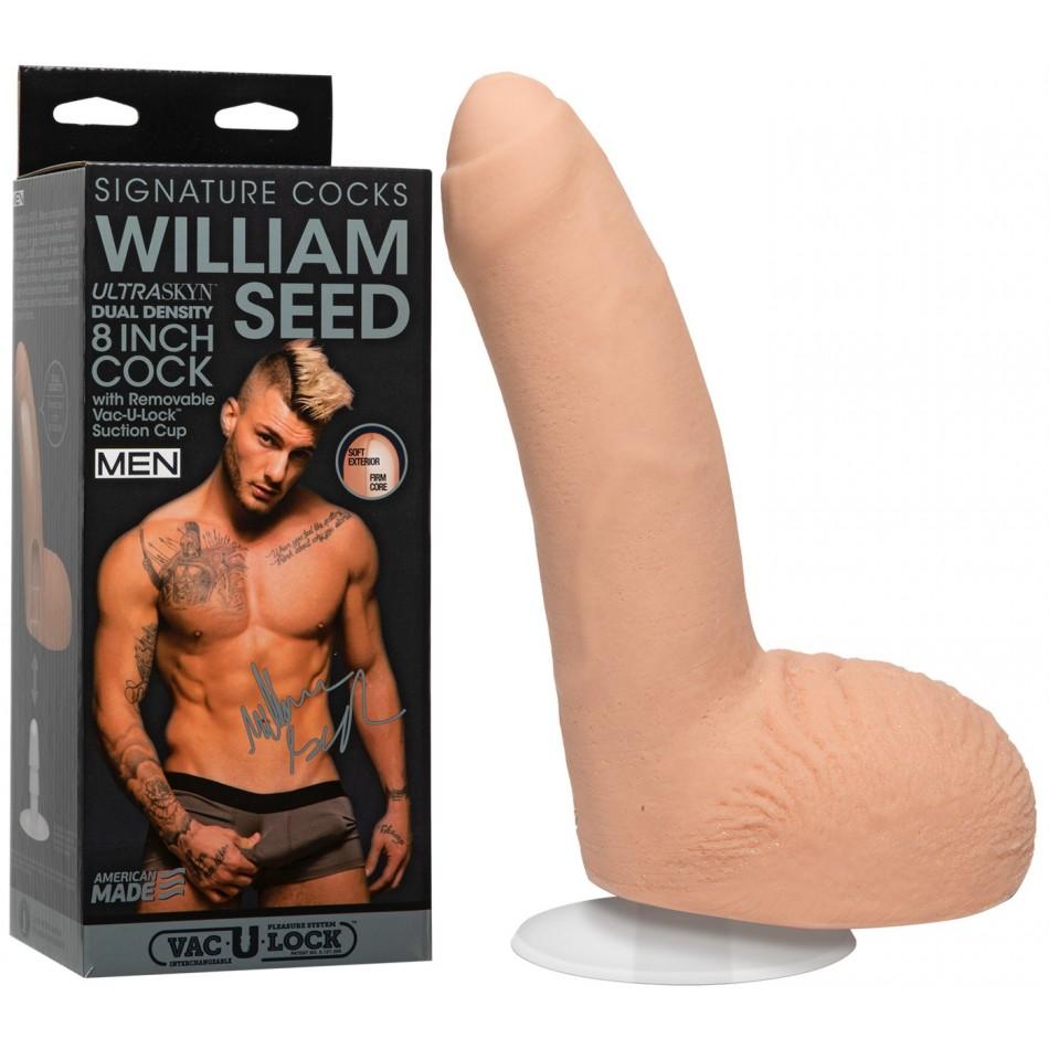 Gode Réaliste Ultraskyn Vac U Lock William Seed