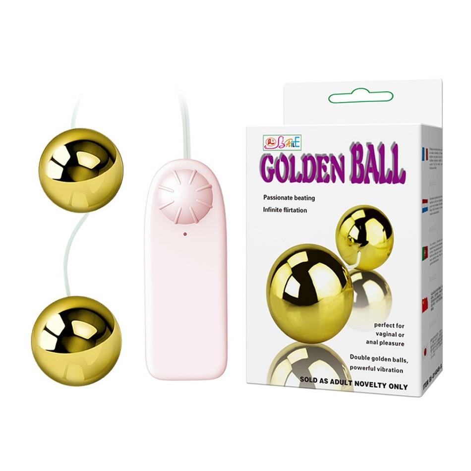 Boules de Geisha Vibrantes Dorées Golden Balls