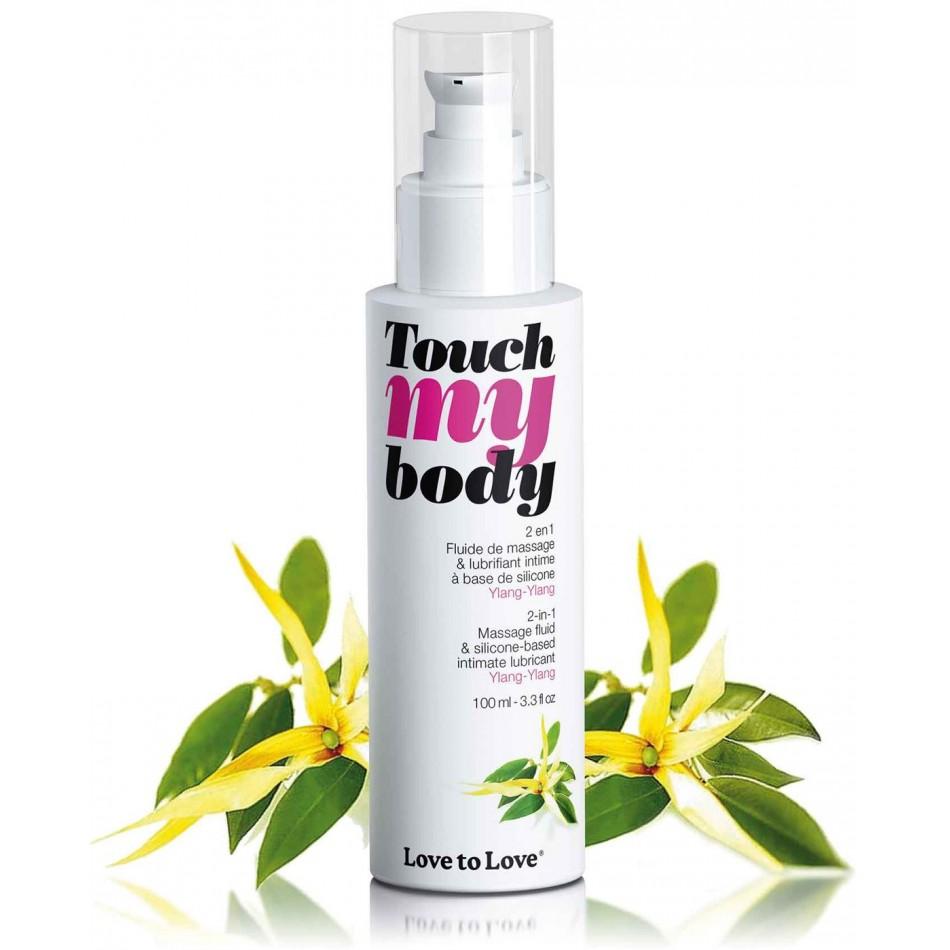 Massage + Lubrifiant Touch My Body Ylang-Ylang - 100 ml