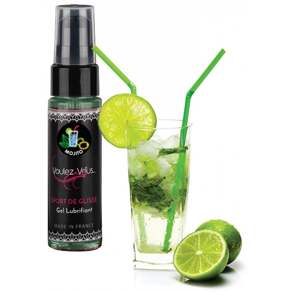 Lubrifiant Sport de Glisse Saveur Mojito - 35 ml