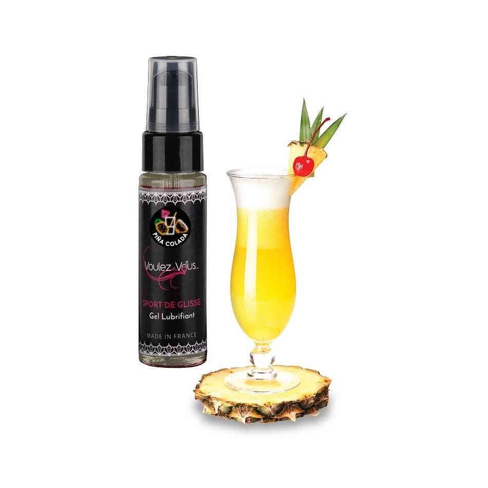 Lubrifiant Sport de Glisse Saveur Pina colada - 35 ml