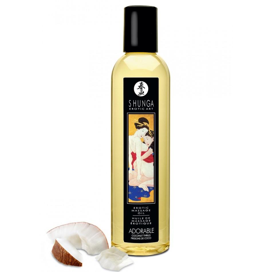 Huile de Massage Adorable Frissons de Coco - 250 ml