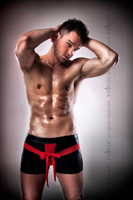 Boxer noeud rouge 001 - L-XL
